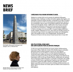 THE ART NEWSPAPER Avril 2019