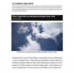 LE CURIEUX DES ARTS Gilles Kraemer Avril 2019