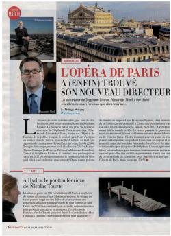 PARIS MATCH Anaël Pigeat Juillet 2019