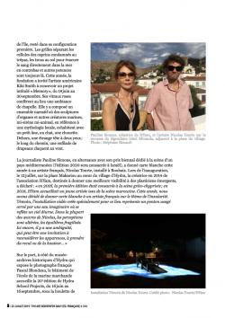 THE ART NEWSPAPER Stéphane Renault Juillet  2019
