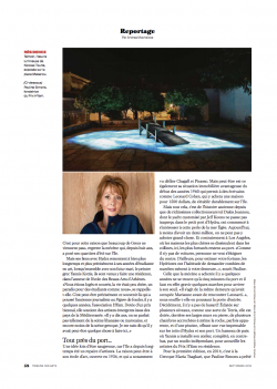 LA TRIBUNE DE GENEVE Andrea Machalova Septembre 2019