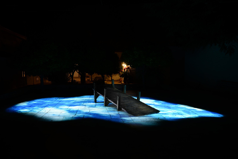Témoin, installation vidéo de Nicolas Tourte